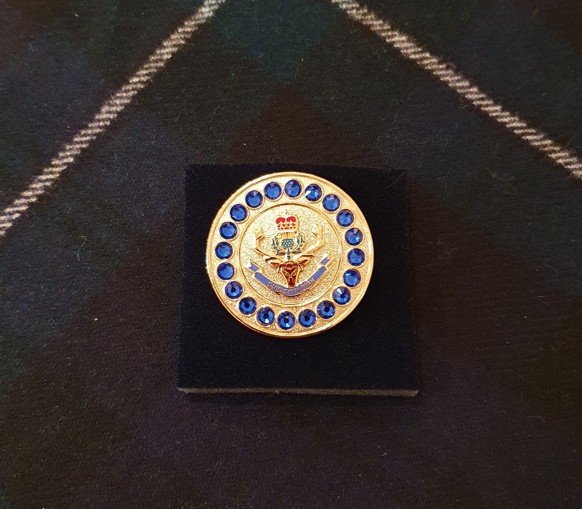 Queen's Own Highlanders Regimental Brooch