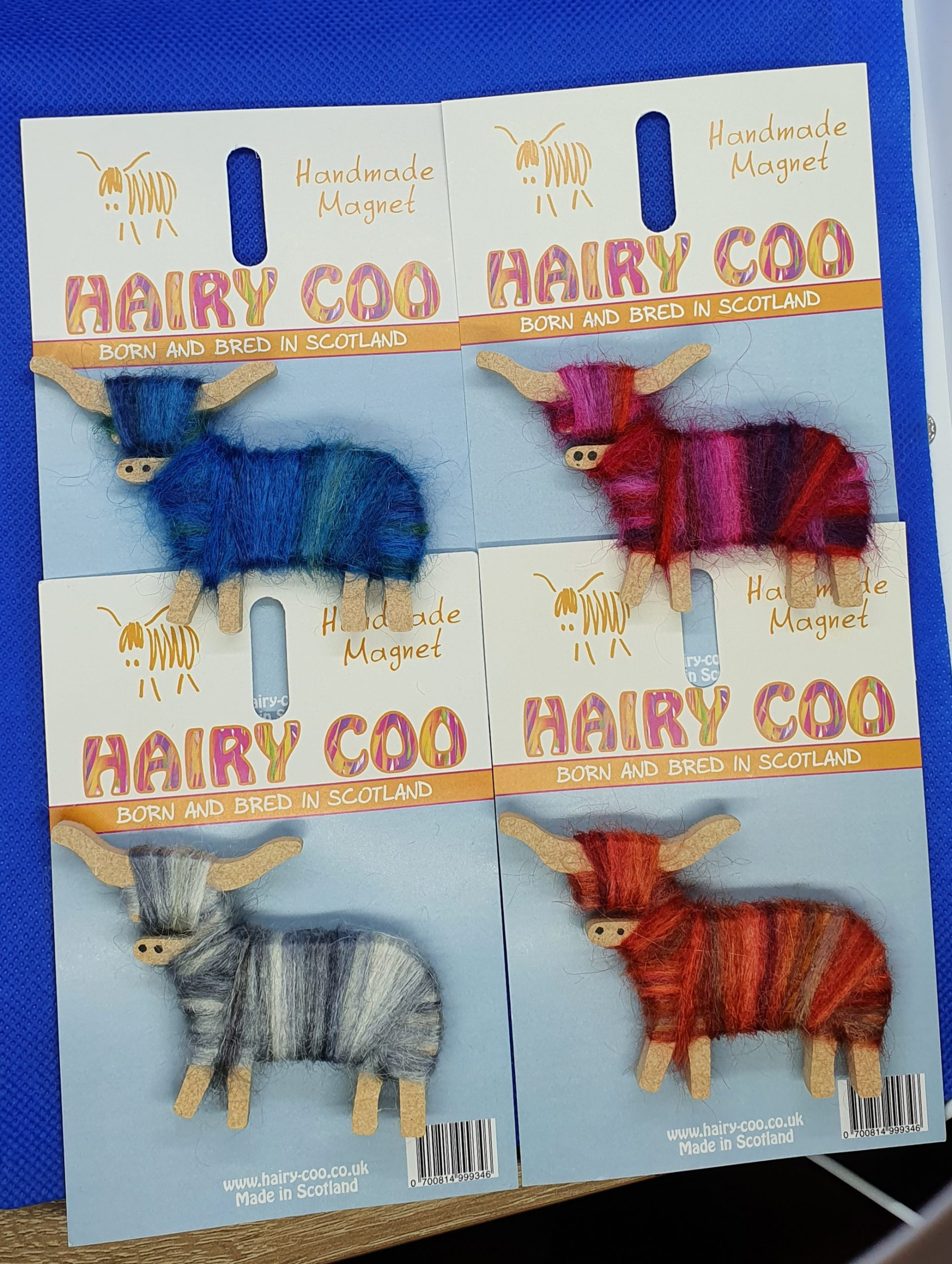 Hairy Coo Magnet