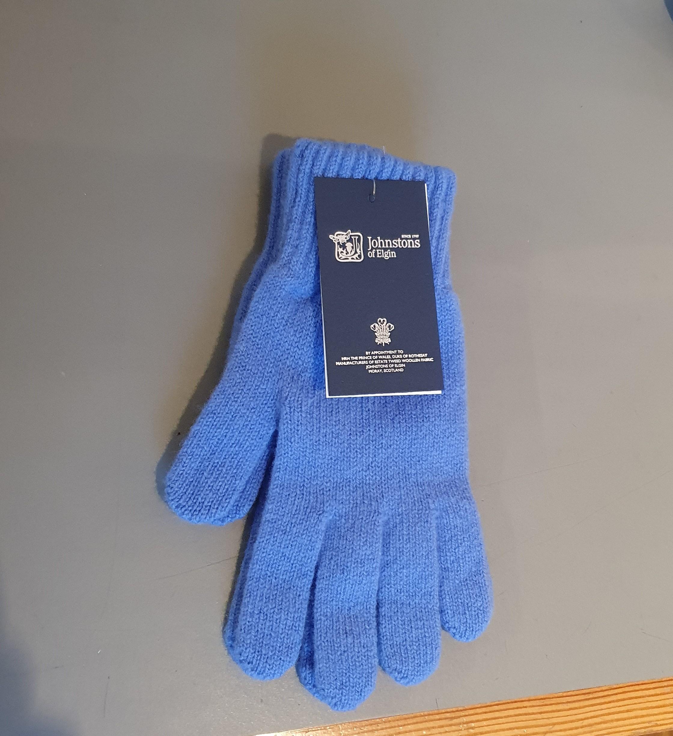 100% Lambswool Gloves - Oceano