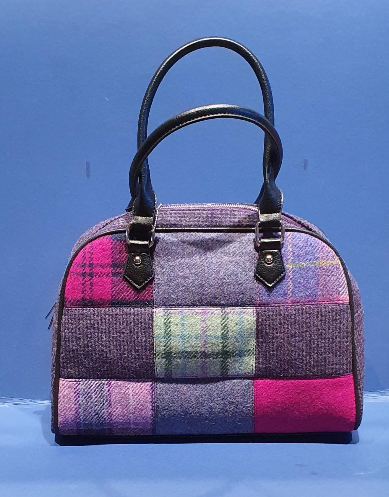Harris Tweed Patch Bag - Nairn