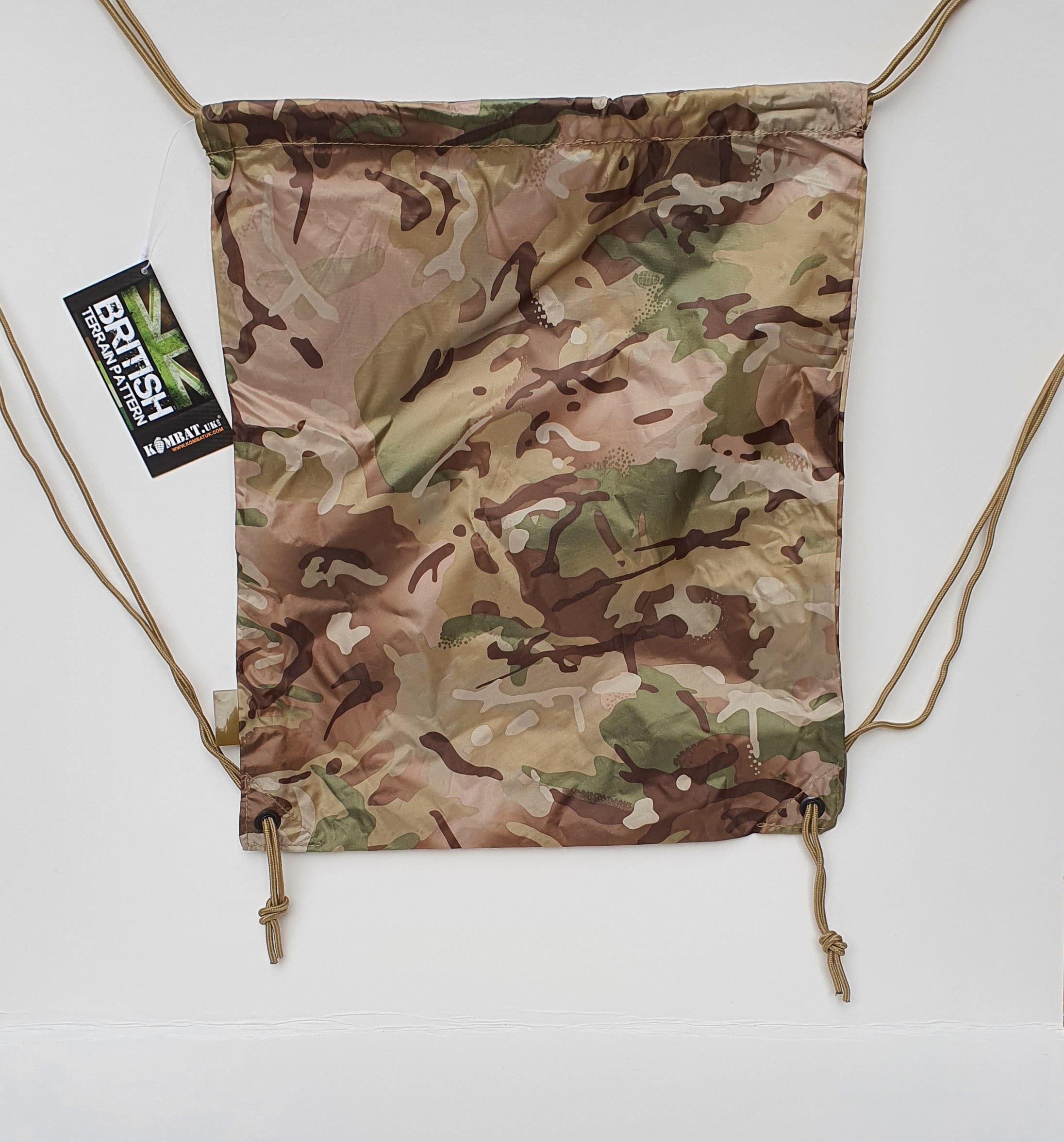 Camouflage Drawstring Bag