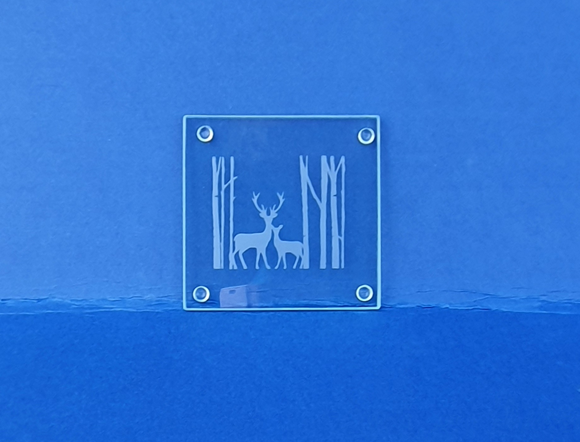 Glass Coaster - Stag