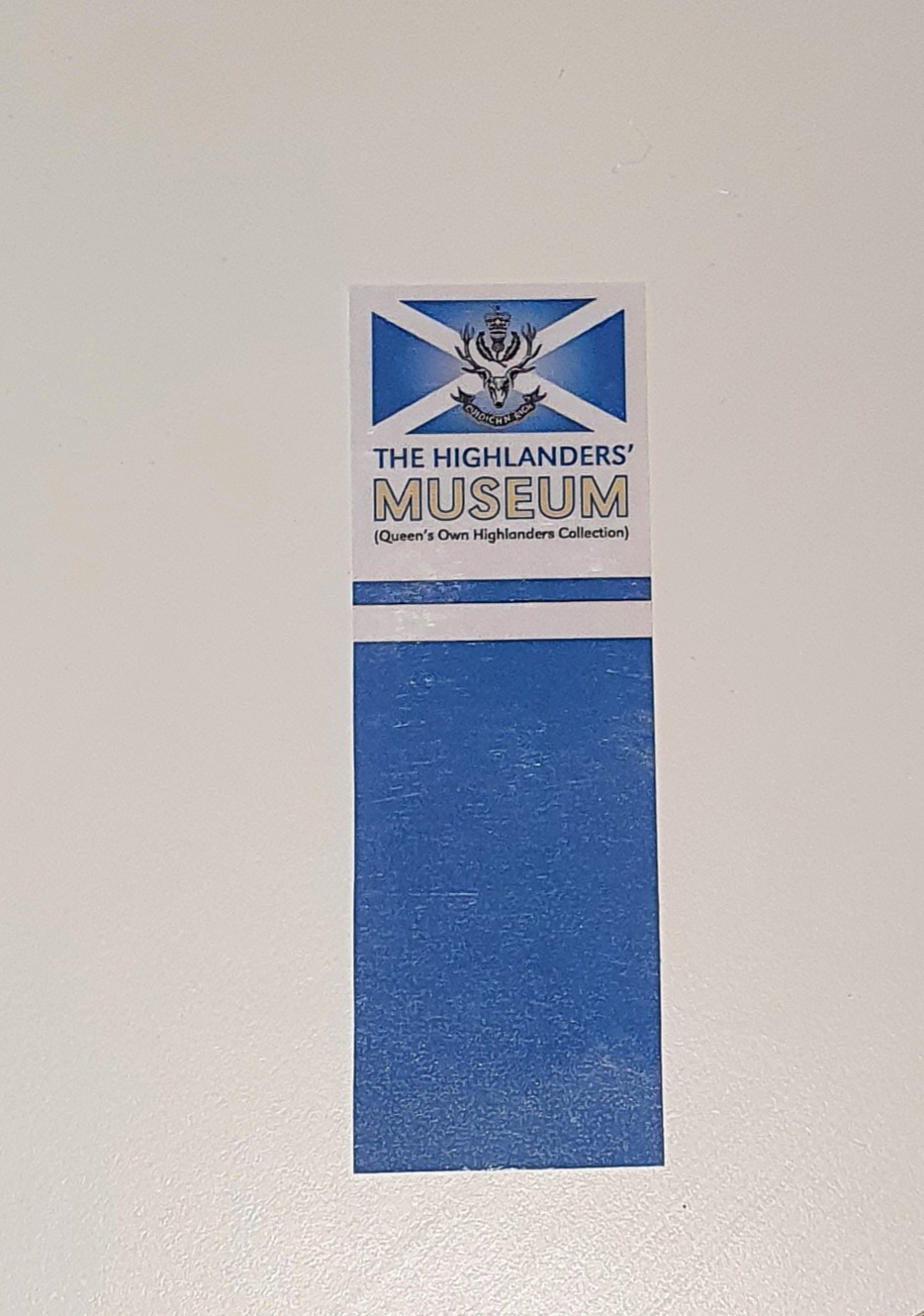 The Highlanders' Museum Bookmark