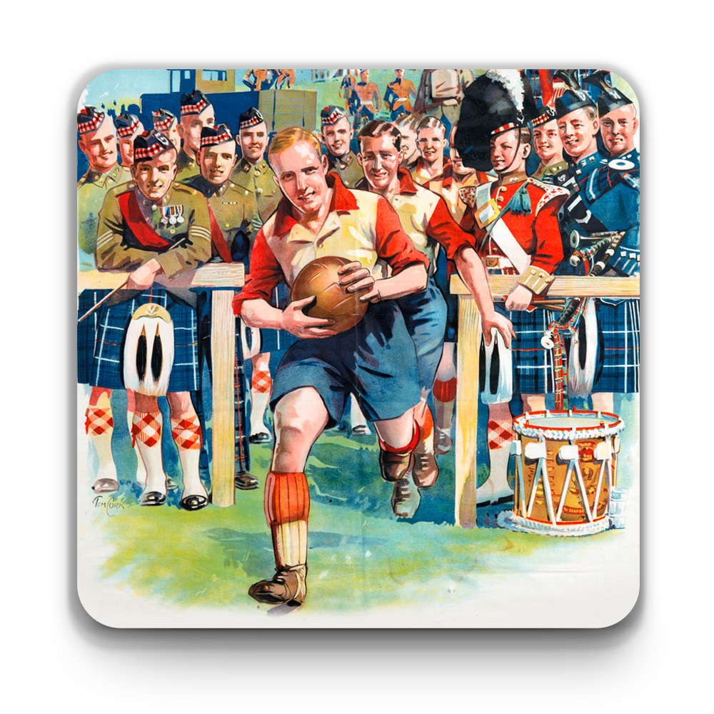 Seaforth Highlanders Coaster