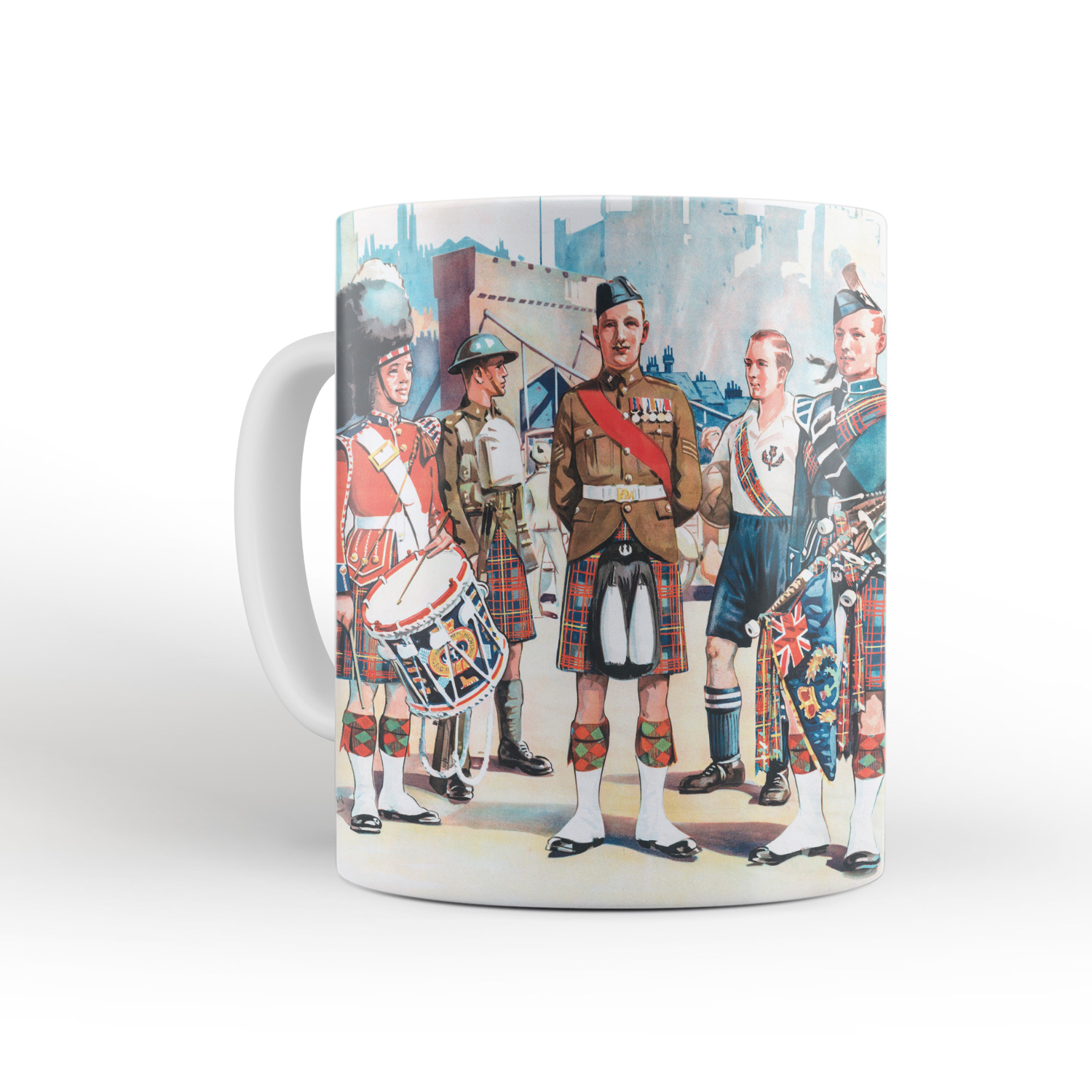 The Queen's Own Cameron Highlanders mug