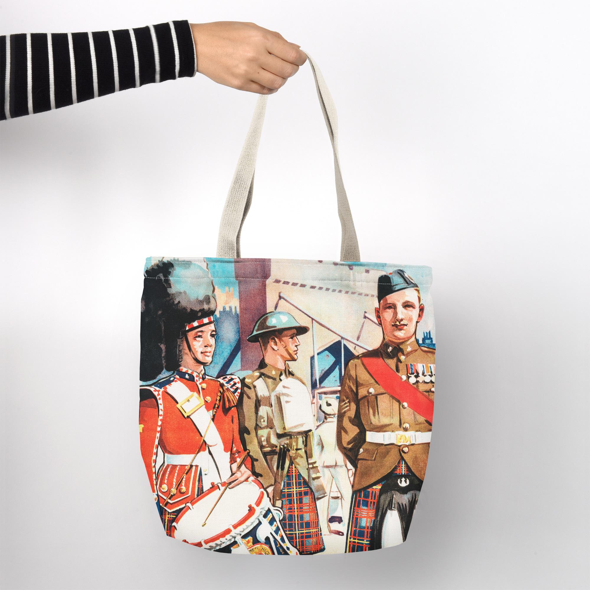 Shopper Bag - The Queen's Own Cameron Highlanders