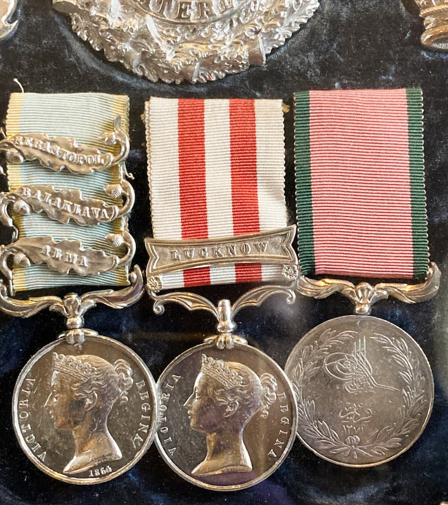 Indian Mutiny Medal with Lucknow Clasp