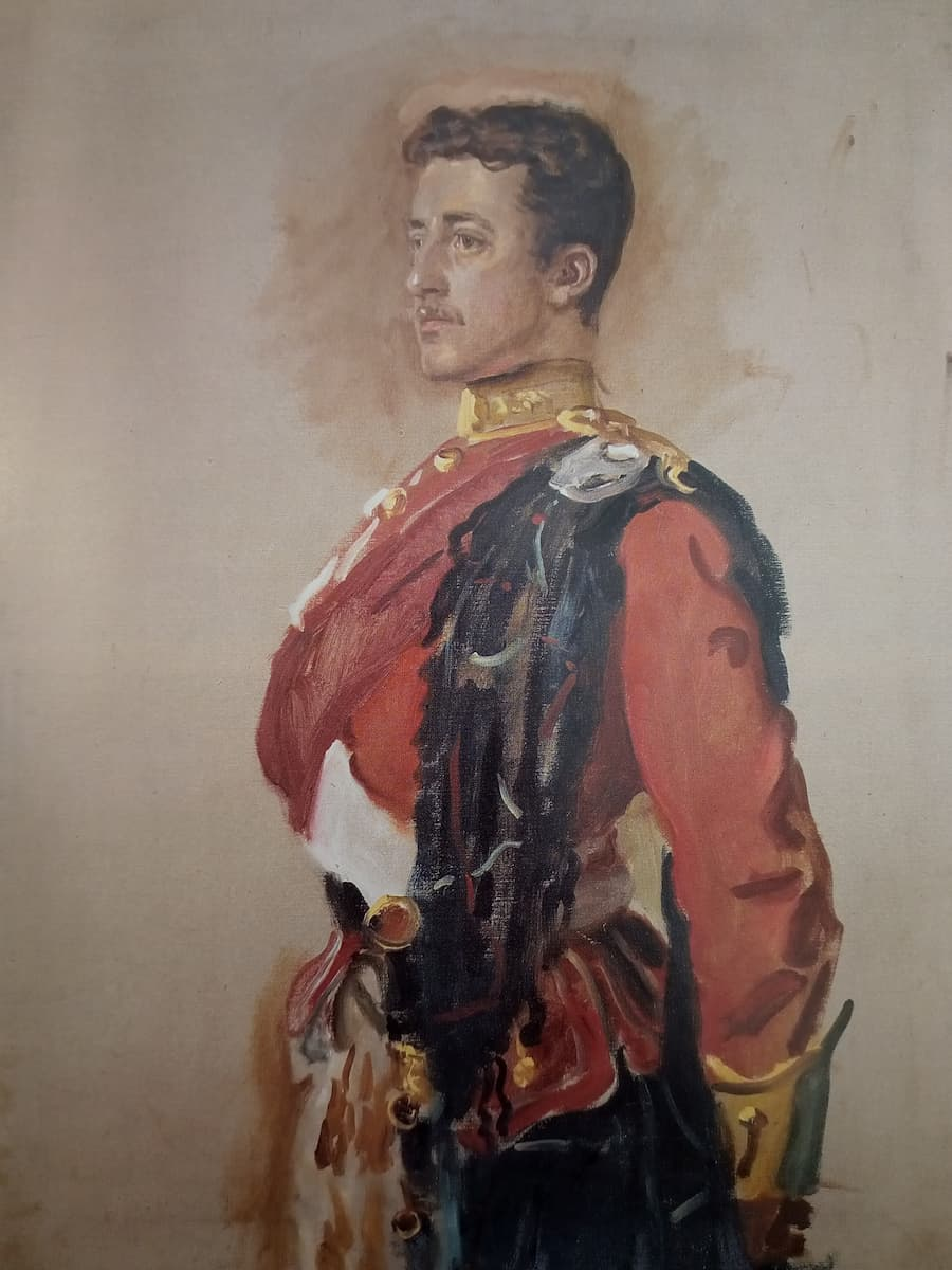 Lieutenant J G Millais, Seaforth Highlanders painted by his father, John Everett Millais in 1890 (1)
