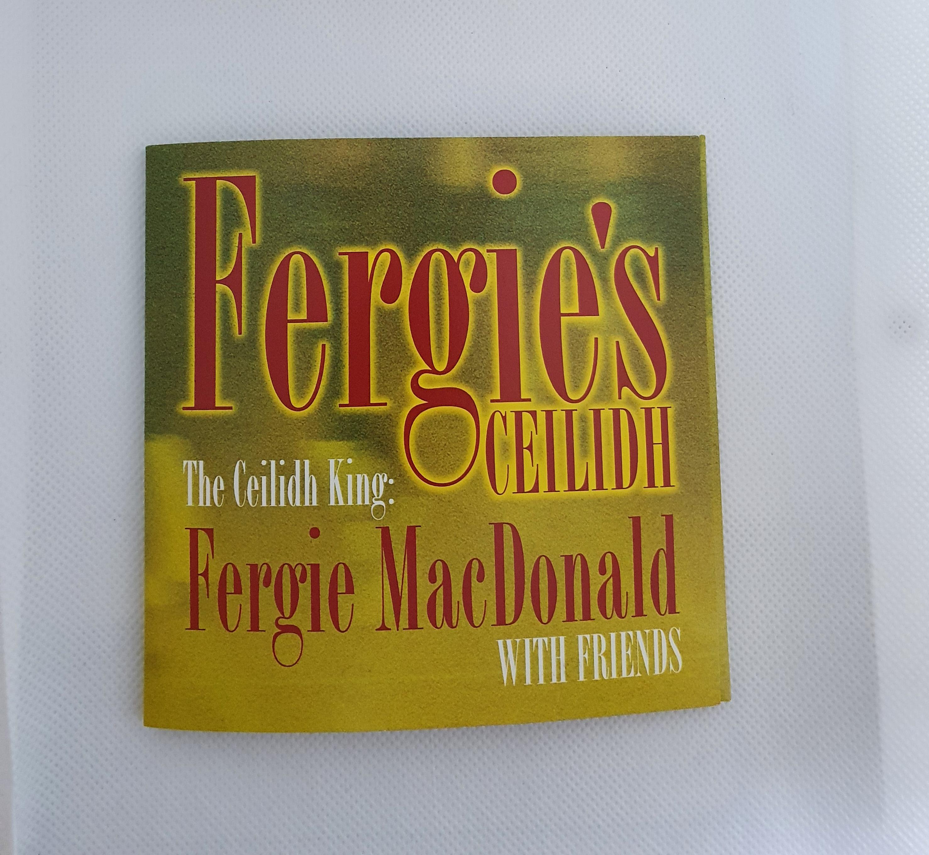 CD- Fergie's Ceilidh
