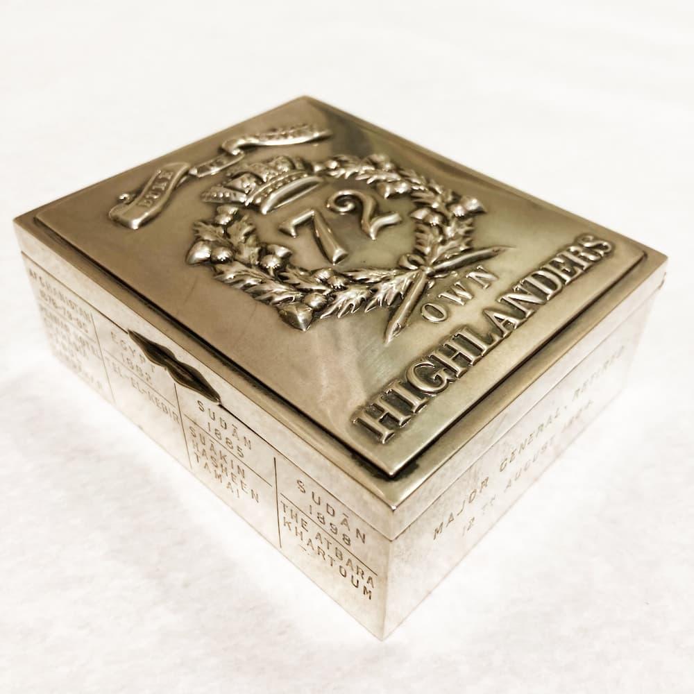 Silver Cigarette Box