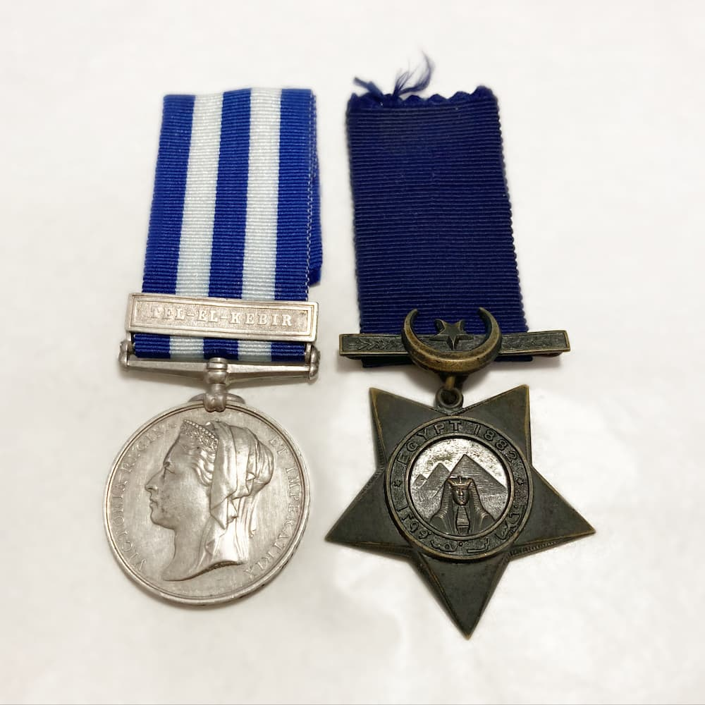 Egypt Medal and Khedive Star