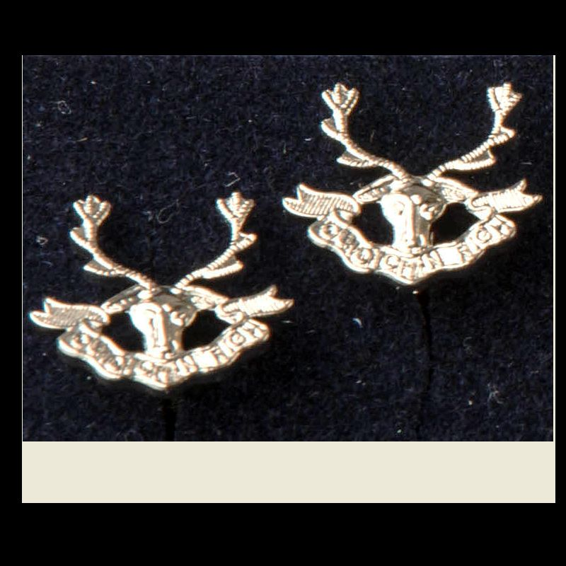 Seaforth Highlanders - Cufflinks
