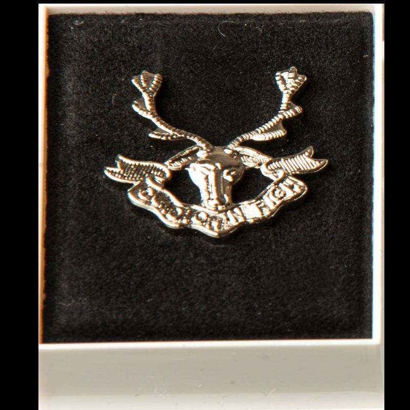 Seaforth Highlander Lapel Badge