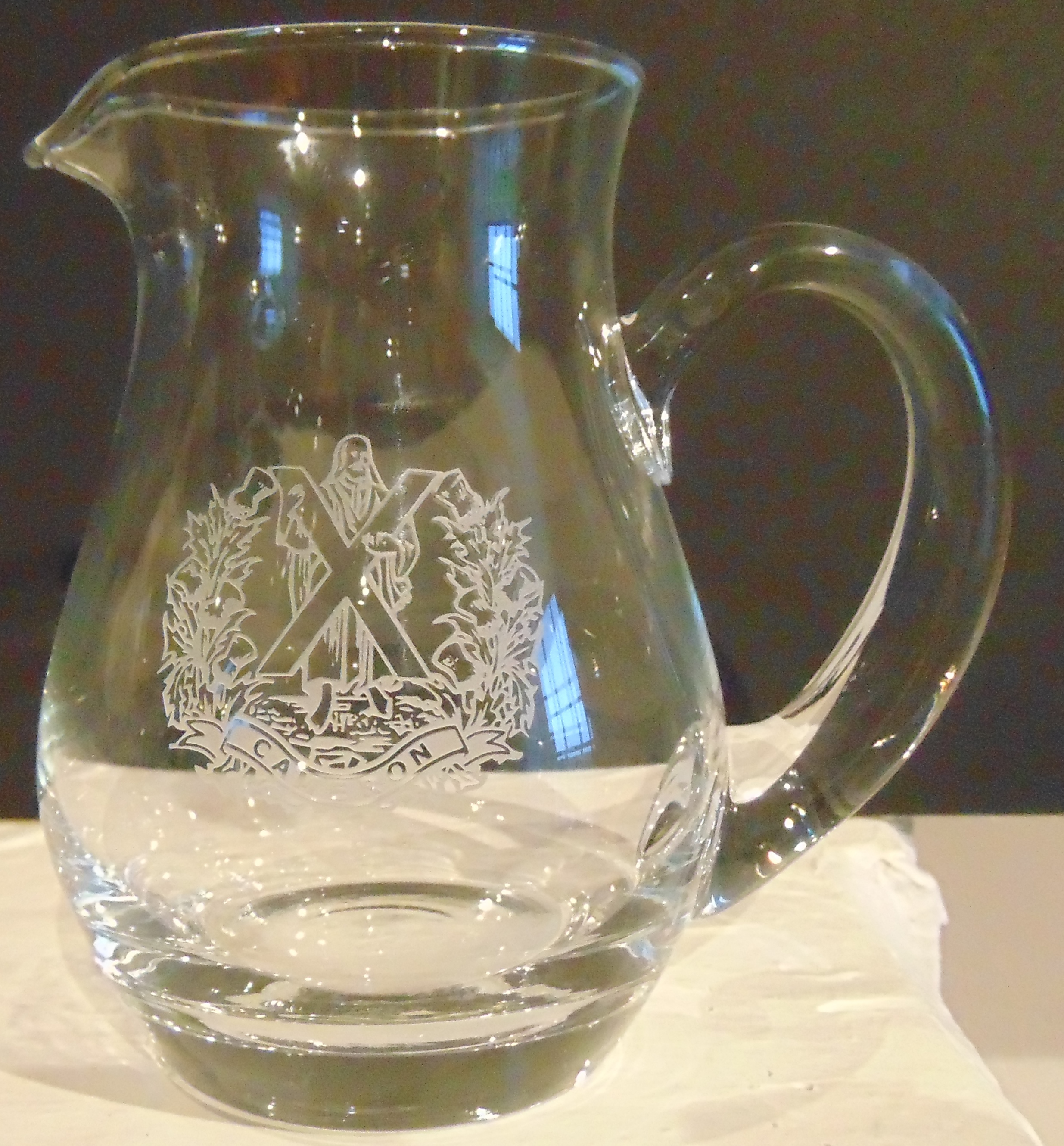 Water Jug - The Queens Own Cameron Highlanders