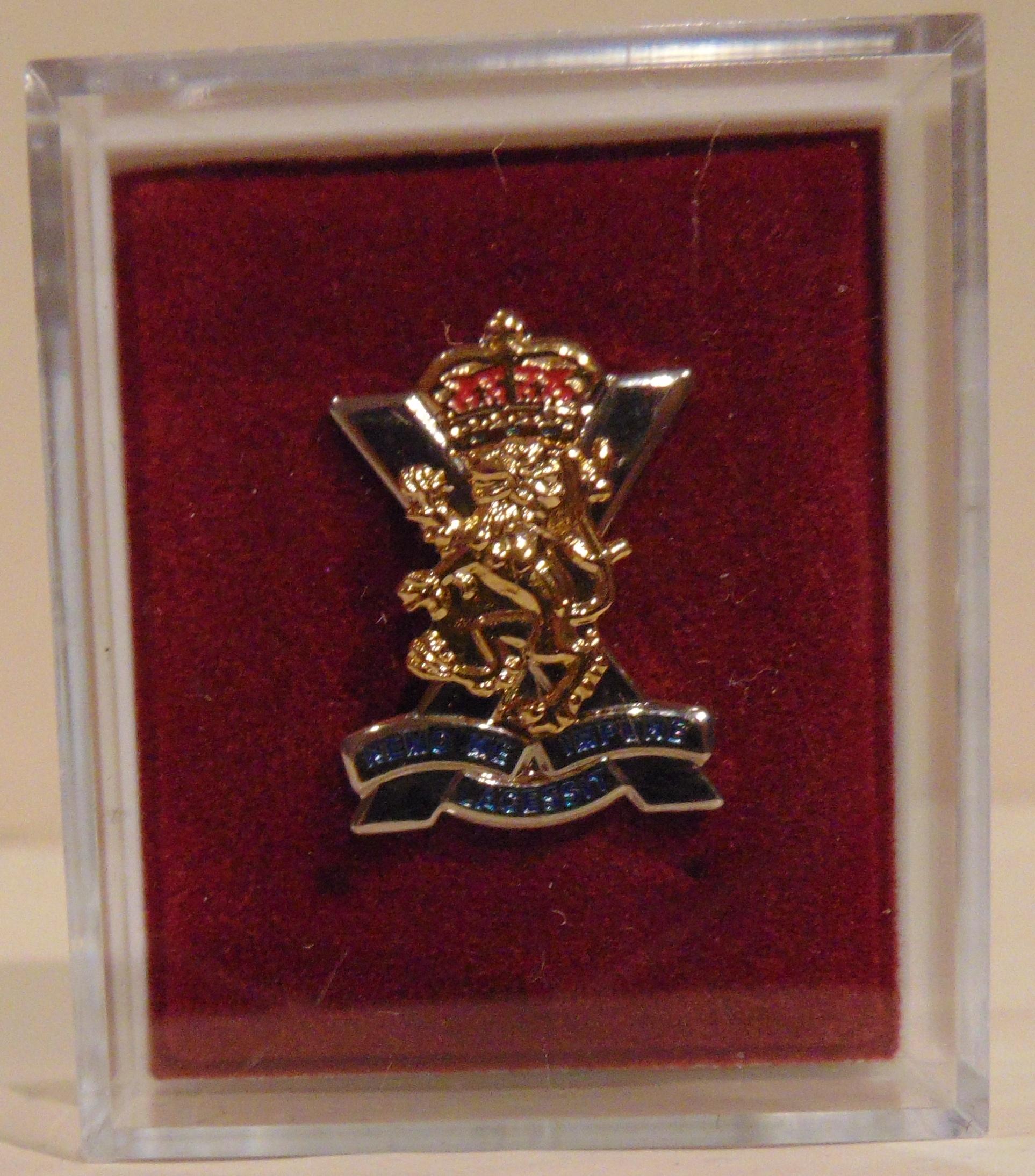 Royal Regiment of Scotland Lapel Badge