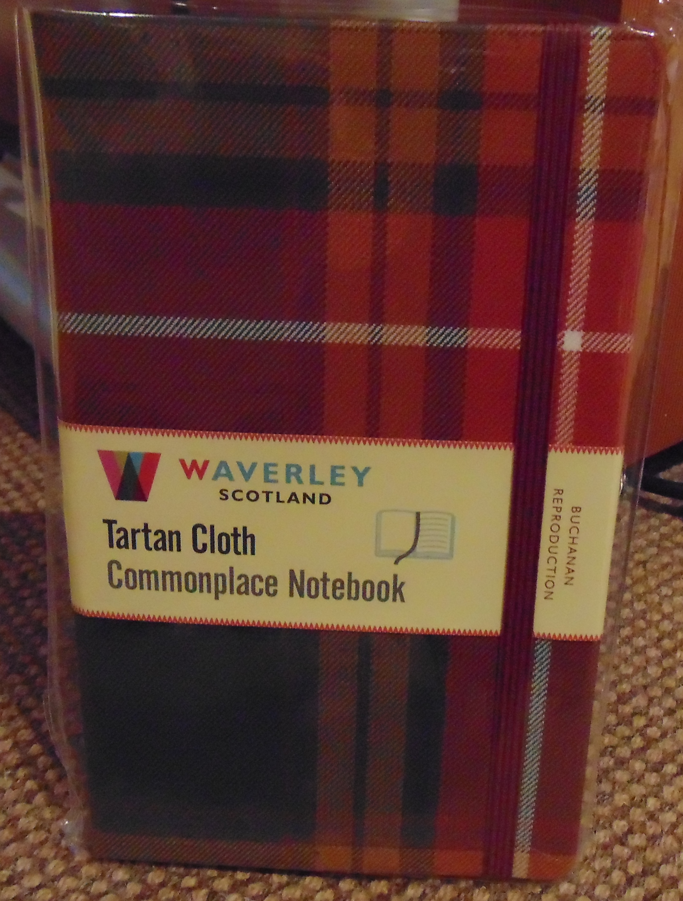 Tartan Cloth Commonplace Notebook (Large)