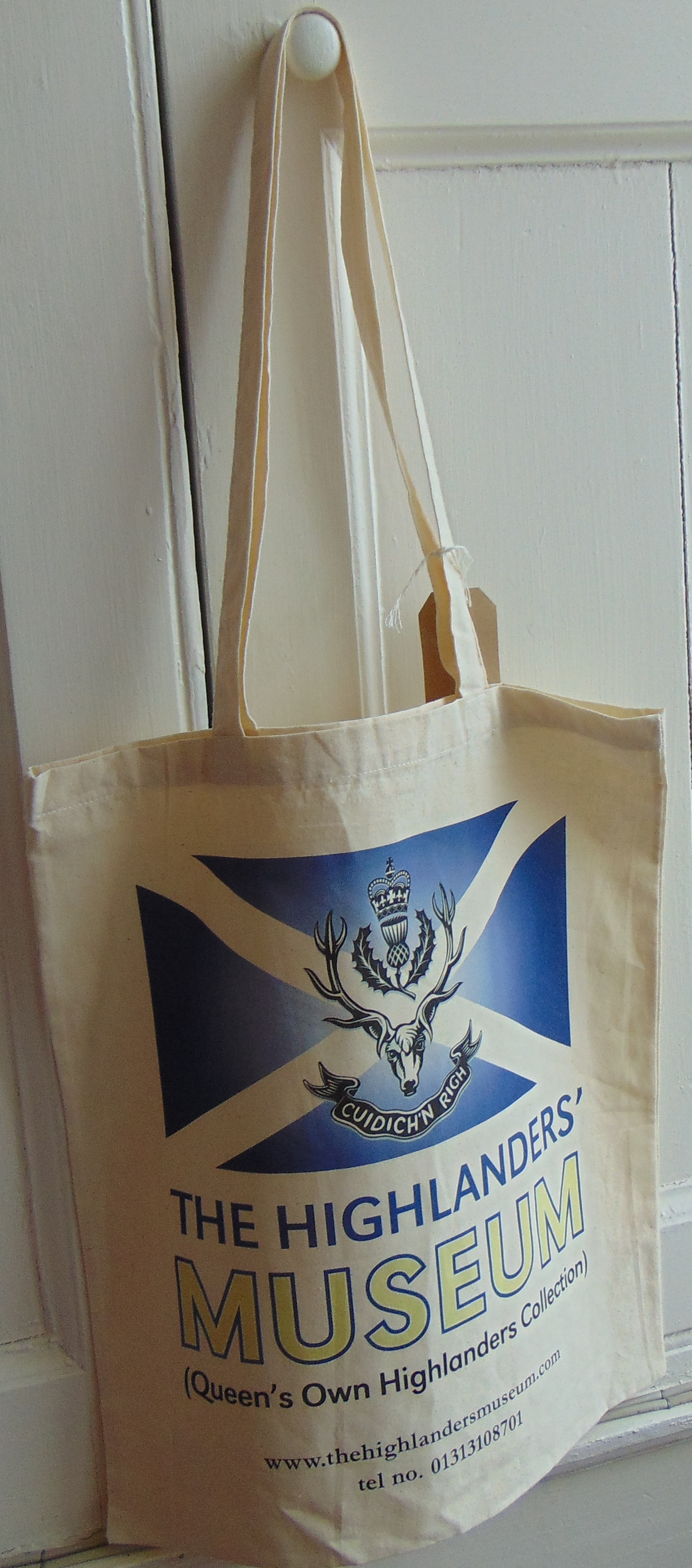 The Highlanders' Museum Cotton Bag