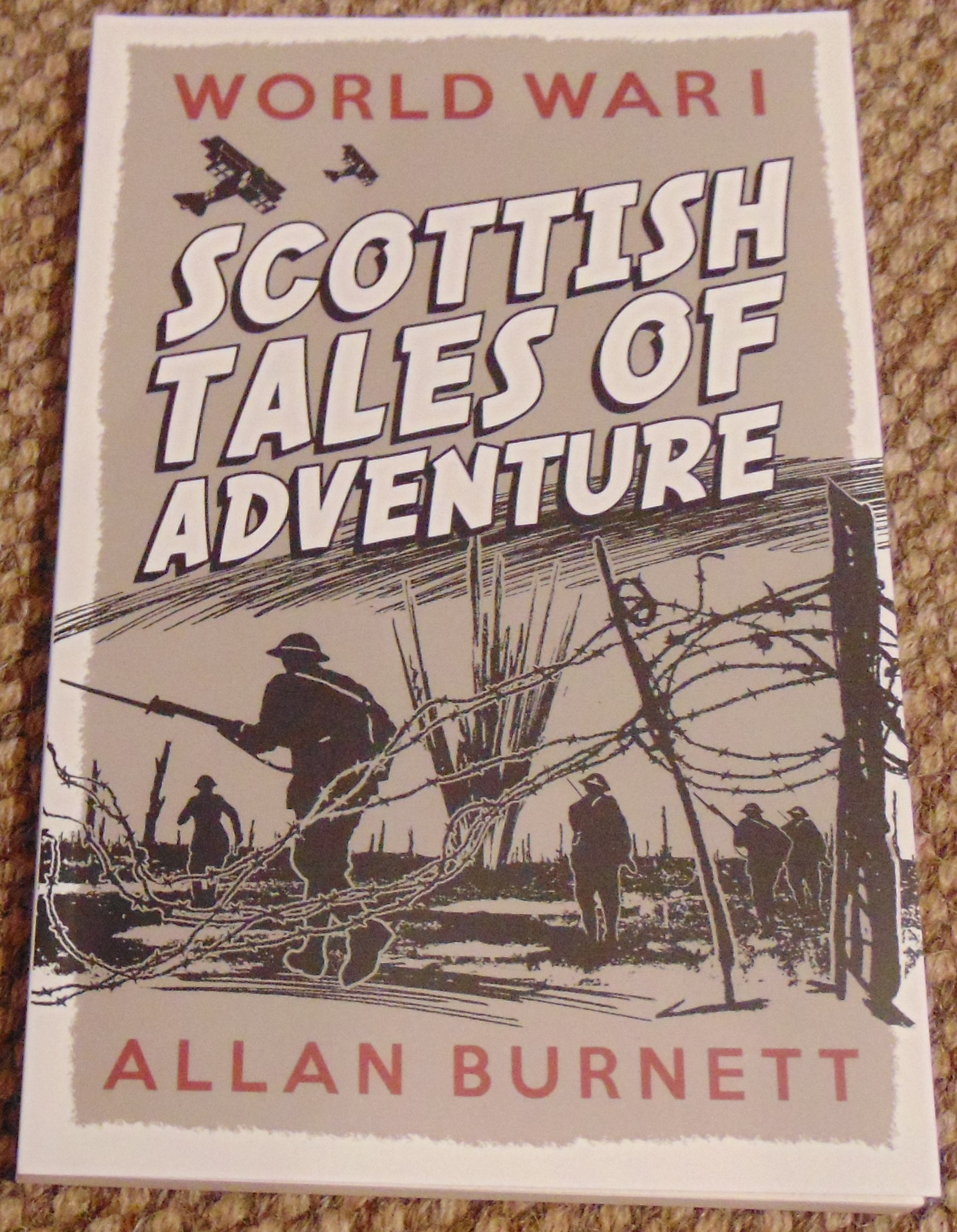 Book - WW1 Scottish Tales of Adventure