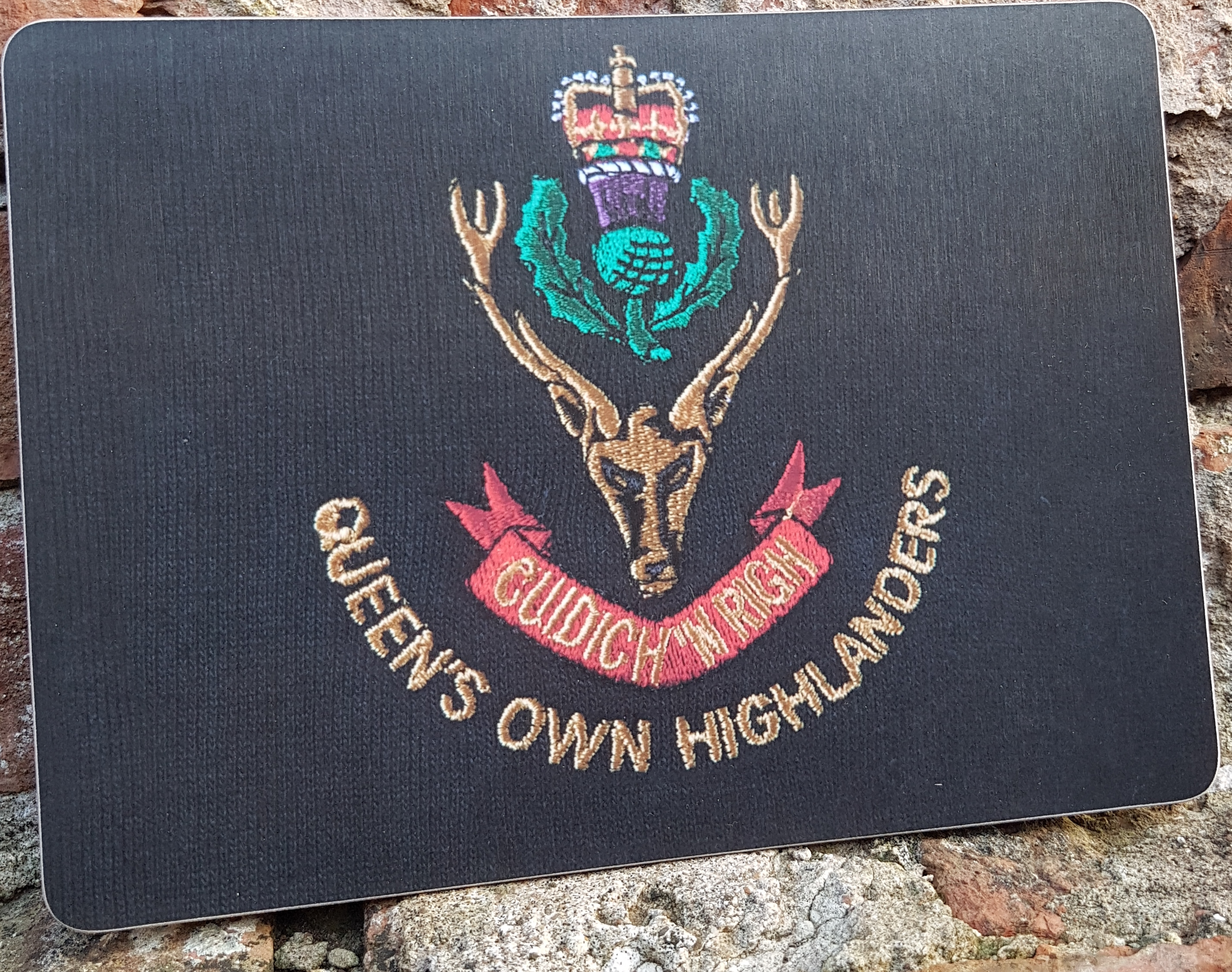Queen's Own Highlander Placemat