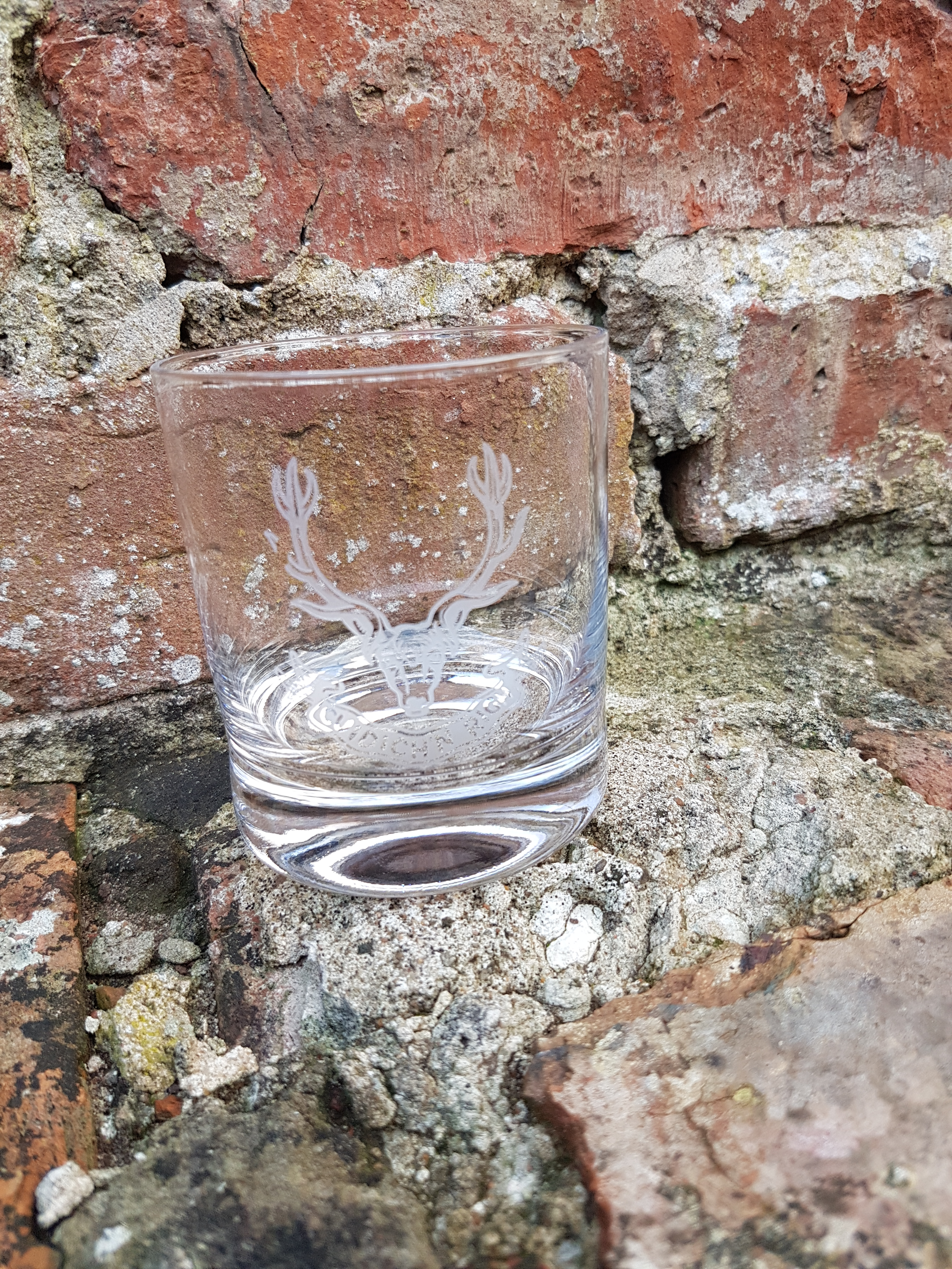 Whisky Glass - Seaforth Highlanders